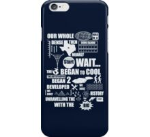 Bang Goes The Theme Song iPhone Case/Skin