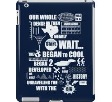 Bang Goes The Theme Song iPad Case/Skin