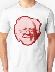 Bernie Sanders Floating Head (red) Unisex T-Shirt
