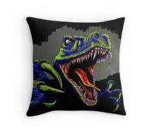 RaptorRex Throw Pillow