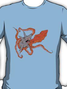 MEGA SHARK vs KRAKEN! T-Shirt