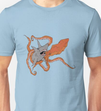 MEGA SHARK vs KRAKEN! Unisex T-Shirt