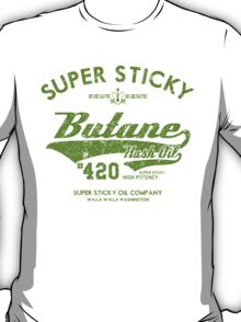 Retro Butane Hash Oil T-Shirt