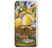 Carmel Valley Bistro Backyard iPhone Case/Skin