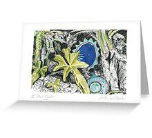 A Potter's Garden (No.6) Greeting Card