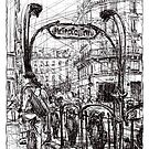 Paris 6 by Tatiana Ivchenkova