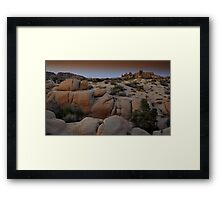 Joshua Tree Twilight Framed Print