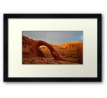 Corona Panorama  Framed Print