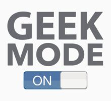 Geek Mode On by BrightDesign