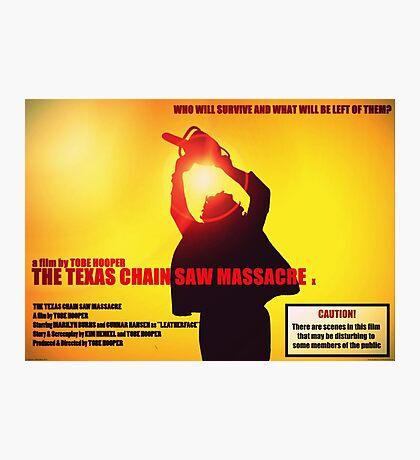 The Texas Chainsaw Massacre Photographic Print