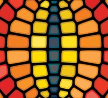 Eye of Sauron - Voronoi Sticker