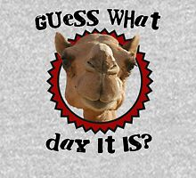 Hump Day Camel - Guess What Day it Is - Wednesday is Hump Day - Parody Camel Unisex T-Shirt
