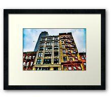 Tall Buildings in New York City, USA Framed Print