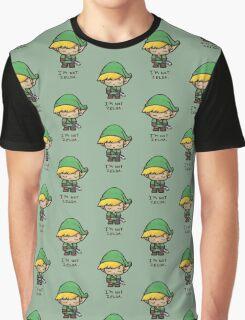Link isn't Zelda Graphic T-Shirt