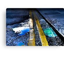 Pavement; or beautiful small things Canvas Print