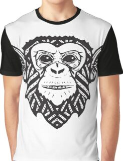 Hip Panzee | Jungleometry Collection Graphic T-Shirt