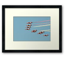 Opening the Show Framed Print