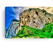 Gibraltar Rock Canvas Print