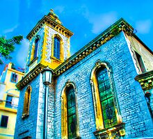 Church in Gibraltar by Noam  Kostucki