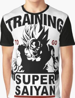 Training to go Super Saiyan Graphic T-Shirt