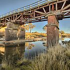 Old Rail Bridge- NSW by Frank Moroni