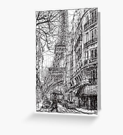 Paris 5 Greeting Card