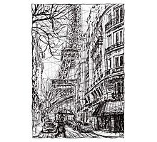 Paris 5 Photographic Print
