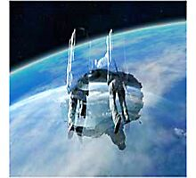 space war Photographic Print