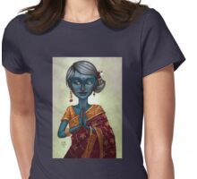 Shiva Priestess Womens Fitted T-Shirt