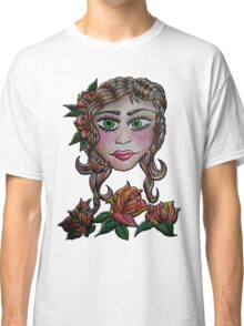 Gypsy Tattoo _ Roses Classic T-Shirt