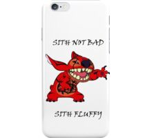 Sith not bad, Sith fluffy iPhone Case/Skin