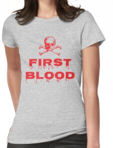 First Blood Womens Fitted T-Shirt