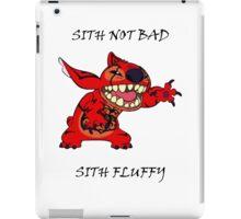 Sith not bad, Sith fluffy iPad Case/Skin