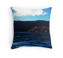 Boating Over Throw Pillow