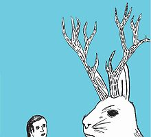 Boy Meets Jackalope by BeAndits