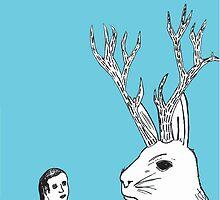 Boy Meets Jackalope by BeAndits