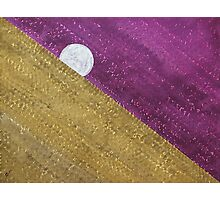 Supermoon original painting Photographic Print