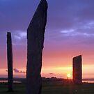 Stennes Sunset 3 by WatscapePhoto