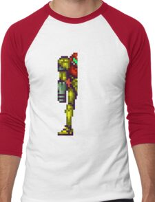 Metroid Men's Baseball ¾ T-Shirt