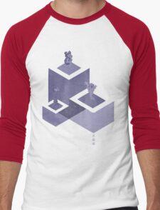 Crystal Castles Men's Baseball ¾ T-Shirt