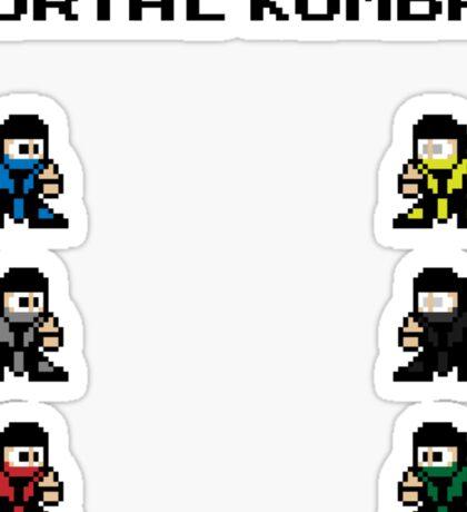 Megaman Kombat Sticker