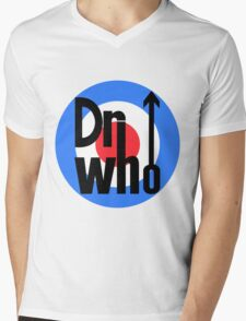 Dr Who Target (with arrow) Mens V-Neck T-Shirt