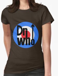 Dr Who Target (with arrow) Womens Fitted T-Shirt