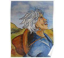 Cowgirl Series: Joyful Cowgirl Poster