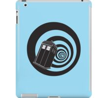 Doctor Who - TARDIS Mod Vortex Time Tunnel iPad Case/Skin
