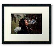 Deathly Exhale Framed Print