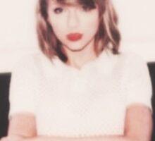 Taylor Swift Blank Space Lyrics Polaroid Sticker