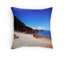 Back the Other Way Throw Pillow