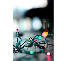Shining Lights Photographic Print