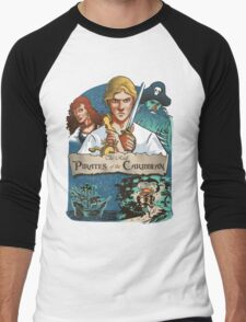 The real Pirates of the Caribbean Men's Baseball ¾ T-Shirt